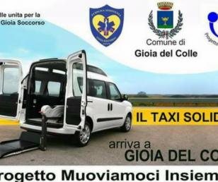 """A favore del Taxi-Solidale e del progetto """"Muoviamoci Insieme"""""""